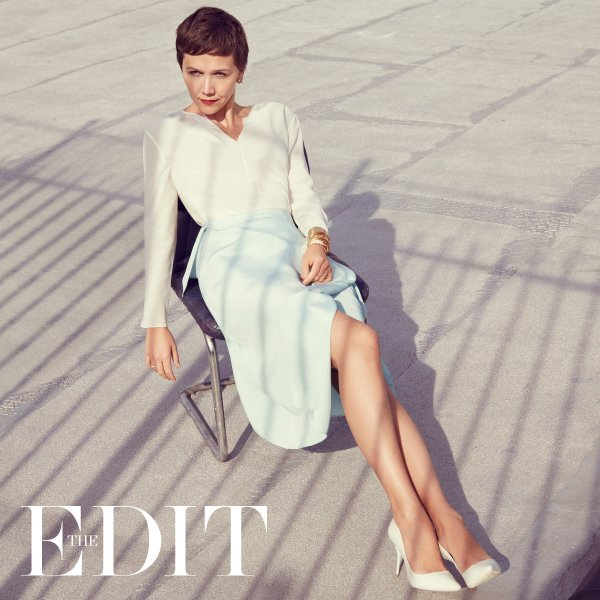 Maggie Gyllenhaal for The EDIT